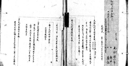 古文書講座 第5回「藩士の年譜書」